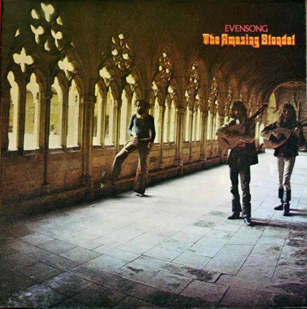 Evensong by AMAZING BLONDEL album cover