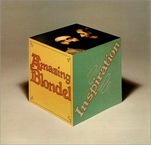 Inspiration by AMAZING BLONDEL album cover