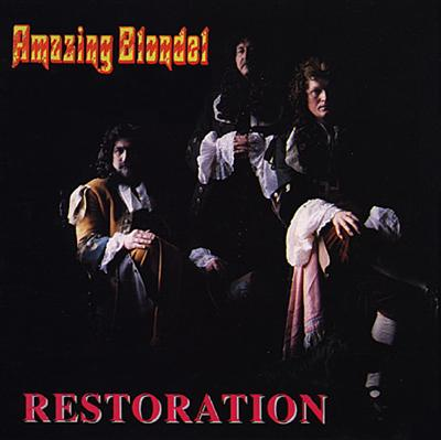 Amazing Blondel - Restoration CD (album) cover
