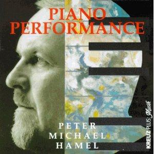 Peter Michael Hamel Piano Performance album cover