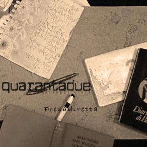 Quarantadue Presadiretta album cover