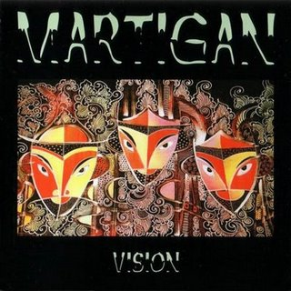 Vision by MARTIGAN album cover