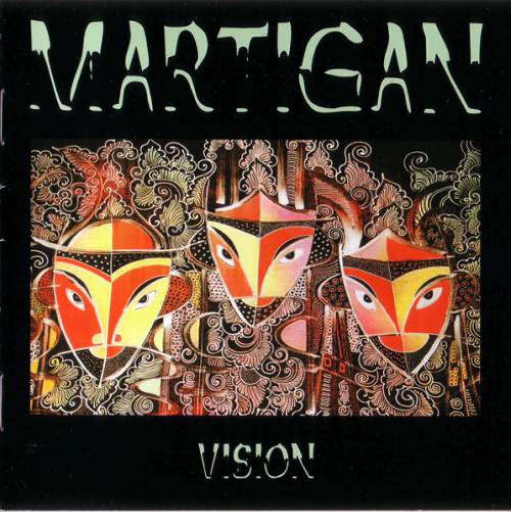Martigan - Vision CD (album) cover