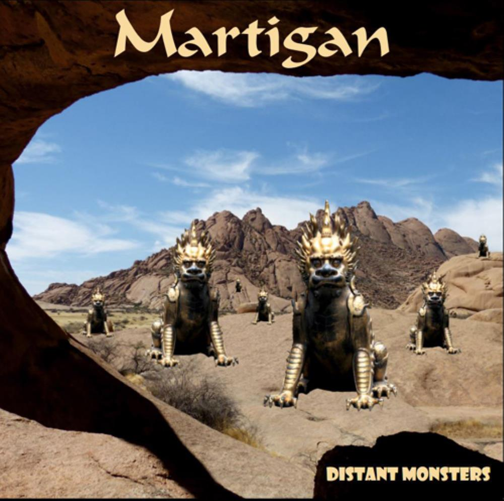 Martigan - Distant Monsters CD (album) cover