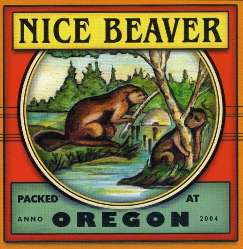 Oregon  by NICE BEAVER album cover