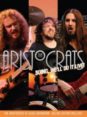 The Aristocrats BOING, Well Do It Live! album cover