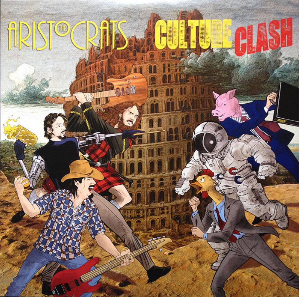Culture Clash by ARISTOCRATS, THE album cover