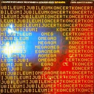 Omega - Jubileumi Koncert CD (album) cover