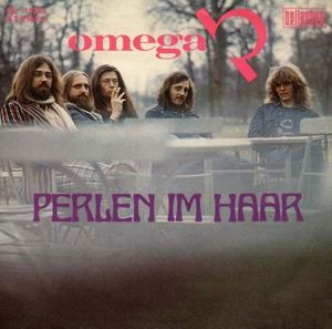 Omega - Perlen im Haar CD (album) cover