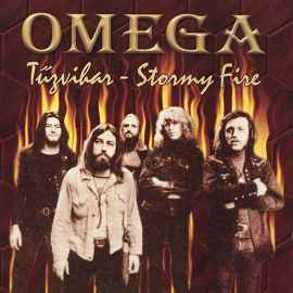 Omega - Tûzvihar - Stormy Fire CD (album) cover