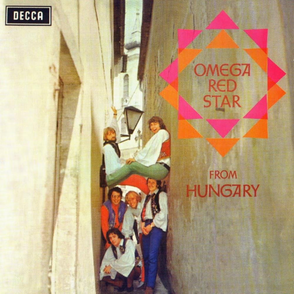 Omega Omega Red Star: From Hungary album cover