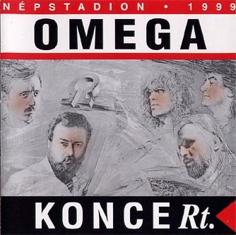 Omega - KONCERt. Népstadion 1999 CD (album) cover