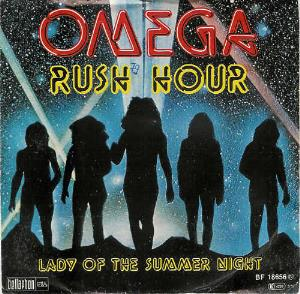 Omega Rush Hour / Lady Of The Summer Night album cover