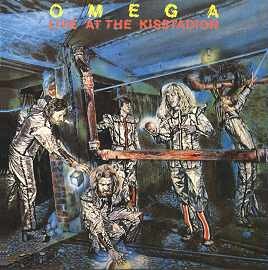 Omega Live at the Kisstadion album cover