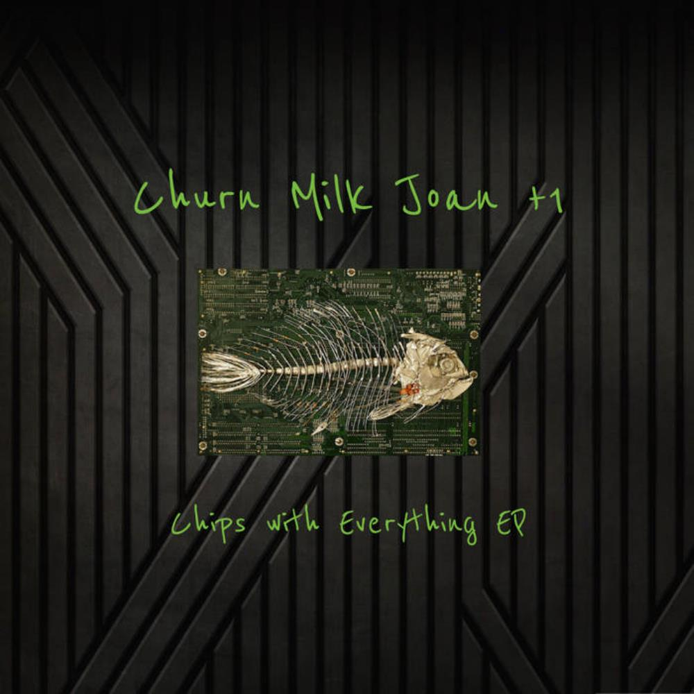 Churn Milk Joan - Chips with Everything EP CD (album) cover