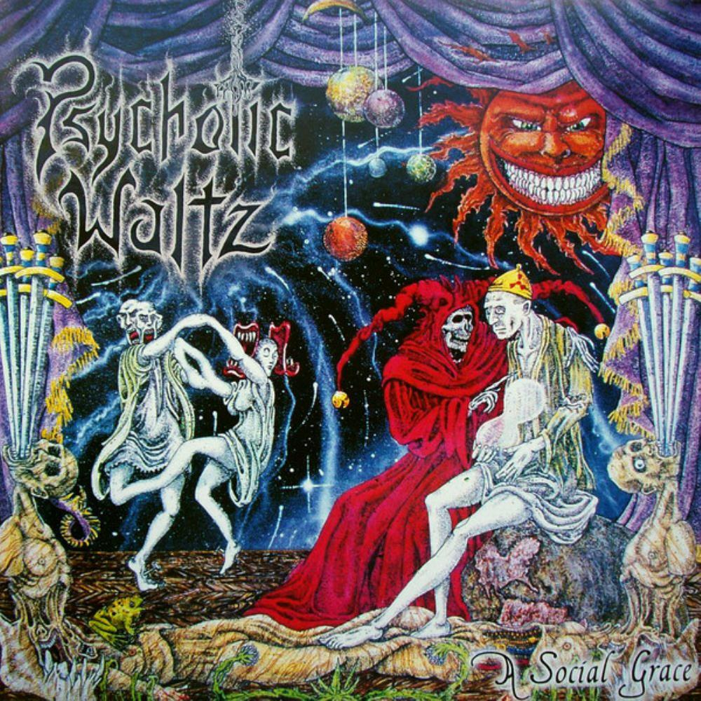 Psychotic Waltz - A Social Grace CD (album) cover