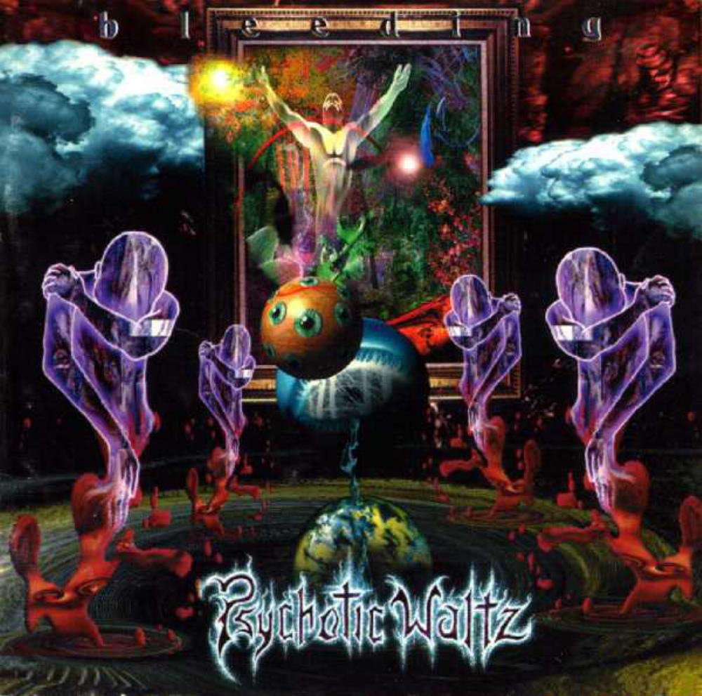 Psychotic Waltz Bleeding album cover