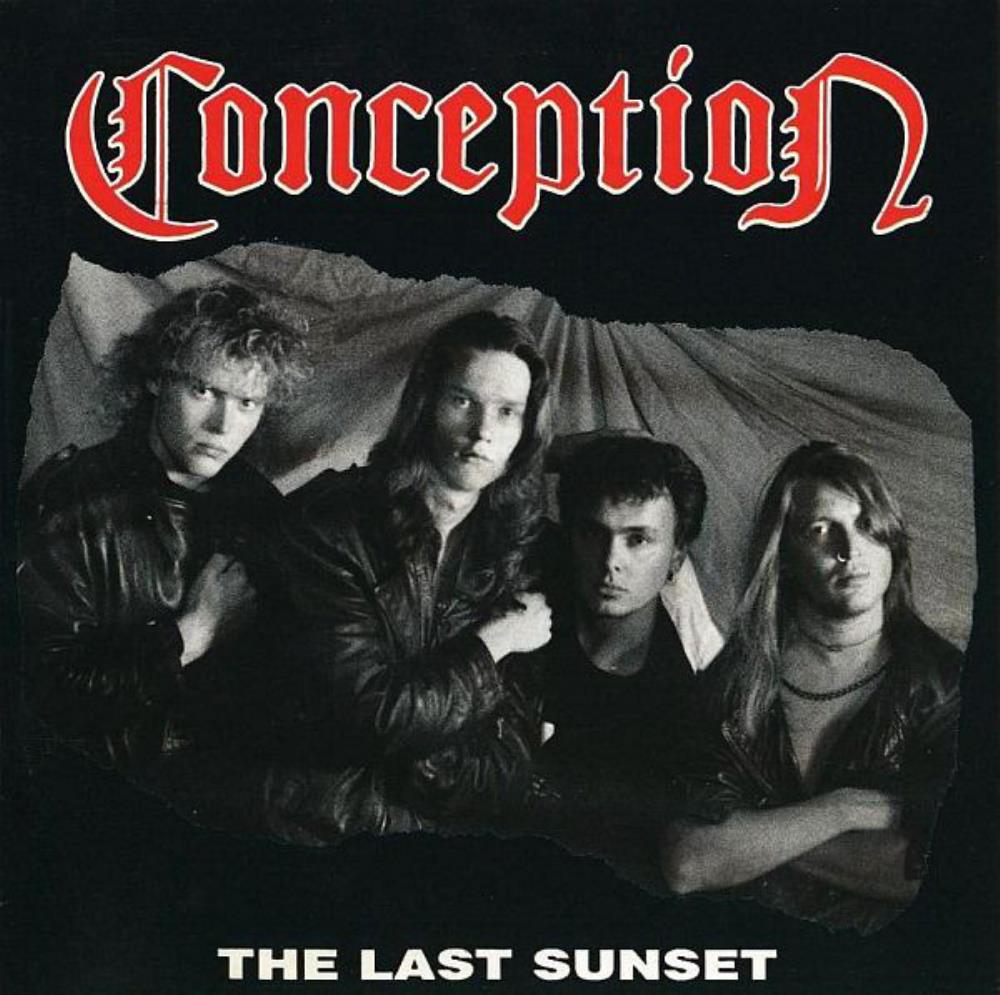 Conception - The Last Sunset CD (album) cover