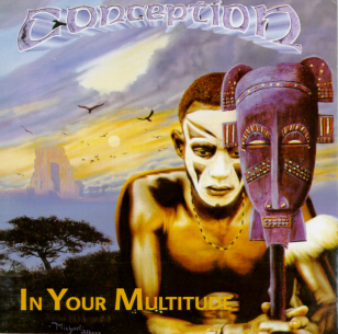 Conception - In Your Multitude CD (album) cover