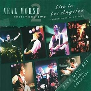Neal Morse Testimony Two - Live In Los Angeles album cover
