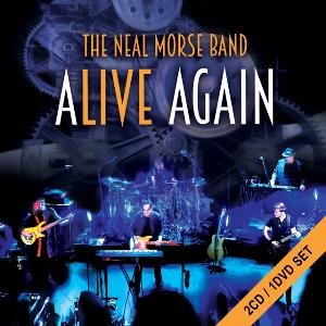 Neal Morse - Alive Again (as The Neal Morse Band) CD (album) cover