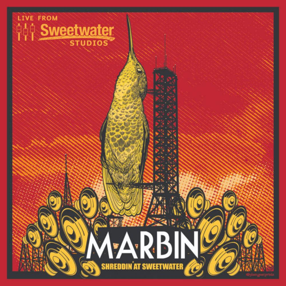 Shreddin' at Sweetwater by MARBIN album cover