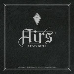 Steve Brockmann and George Andrade - Airs - A Rock Opera CD (album) cover
