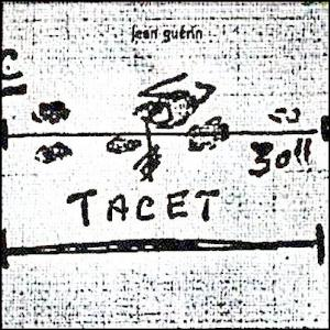 Jean Gu�rin - Tacet  CD (album) cover