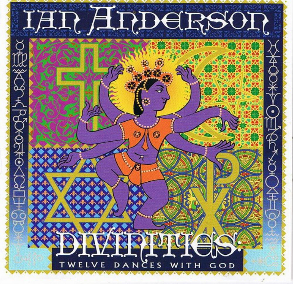 Ian Anderson - Divinities - Twelve Dances With God CD (album) cover