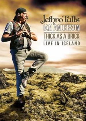 Ian Anderson Thick As A Brick Live in Iceland album cover