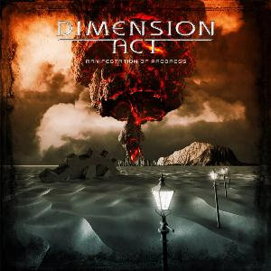 Dimension Act - Manifestation of Progress CD (album) cover