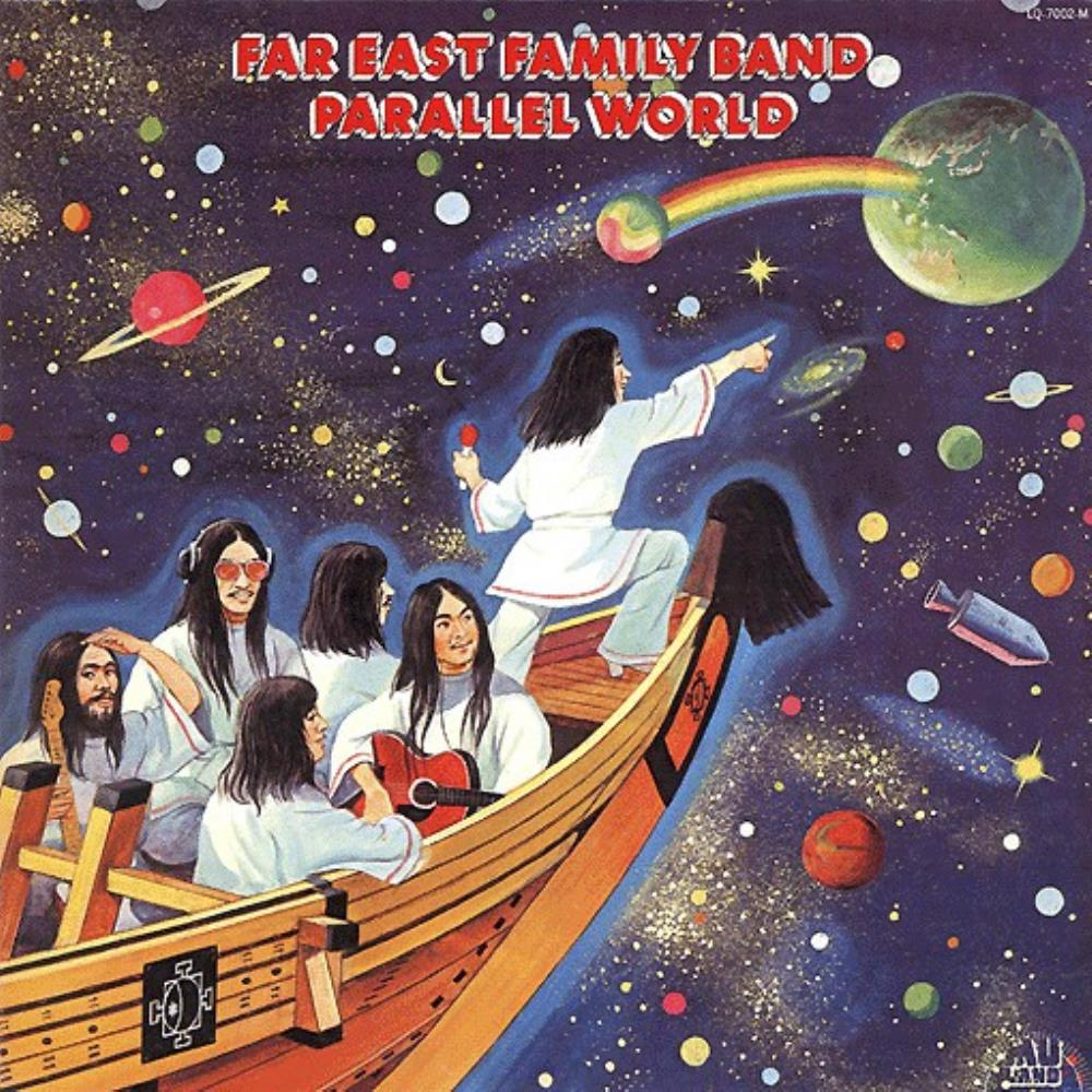 Parallel World by FAR EAST FAMILY BAND album cover