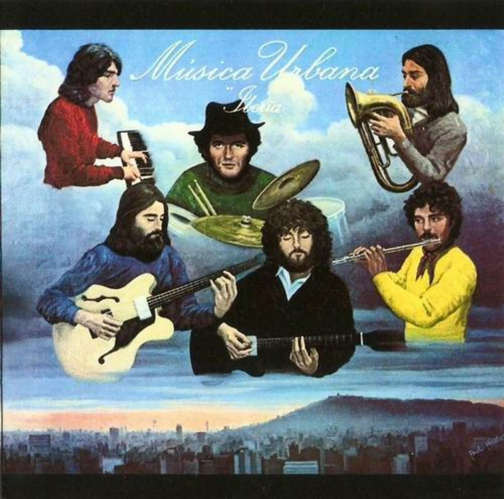 Iberia by MÚSICA URBANA album cover