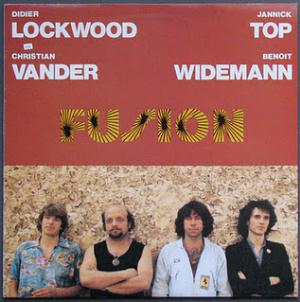 Didier Lockwood Fusion album cover