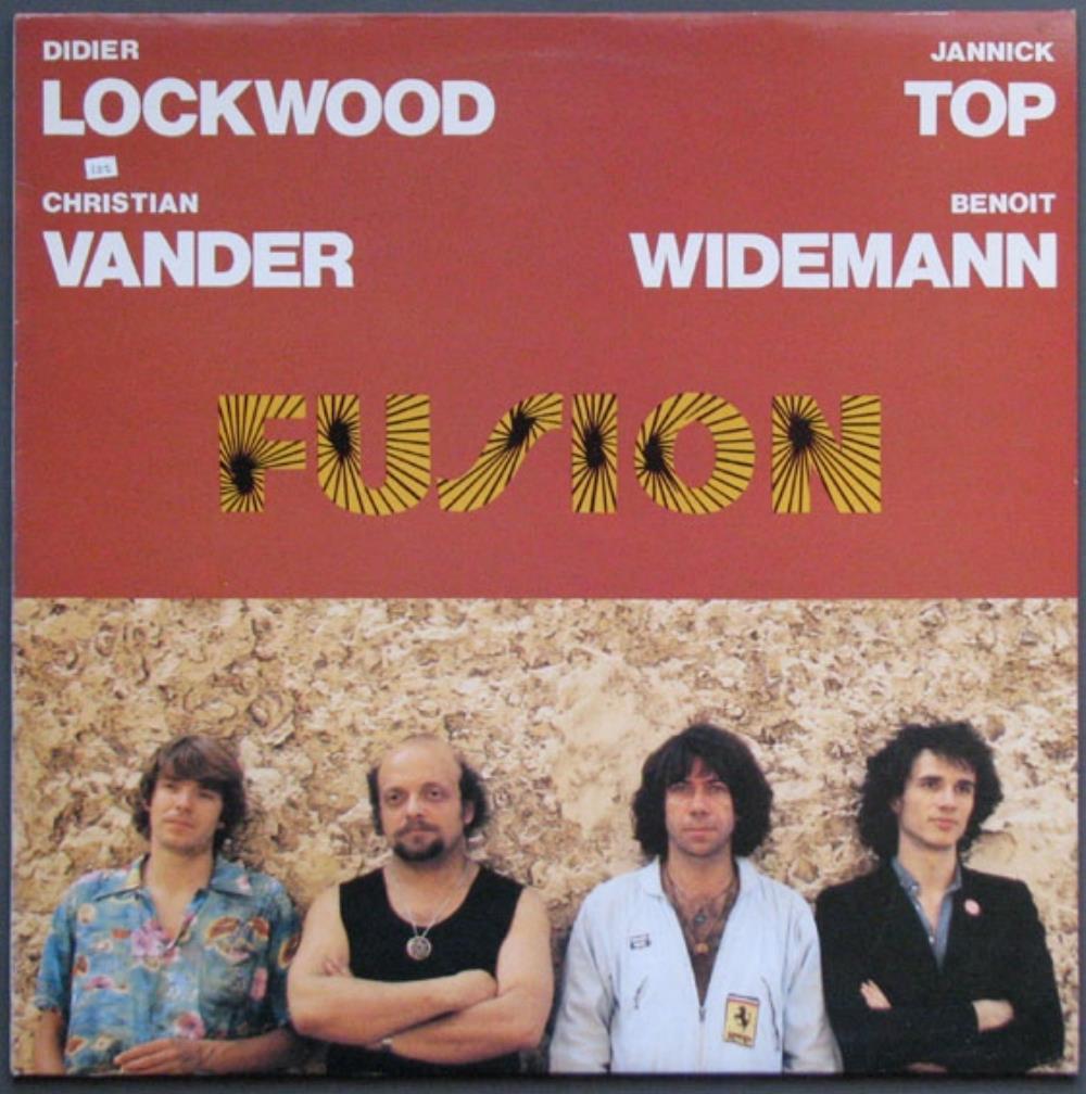 Lockwood, Top, Vander & Widemann: Fusion by LOCKWOOD, DIDIER album cover