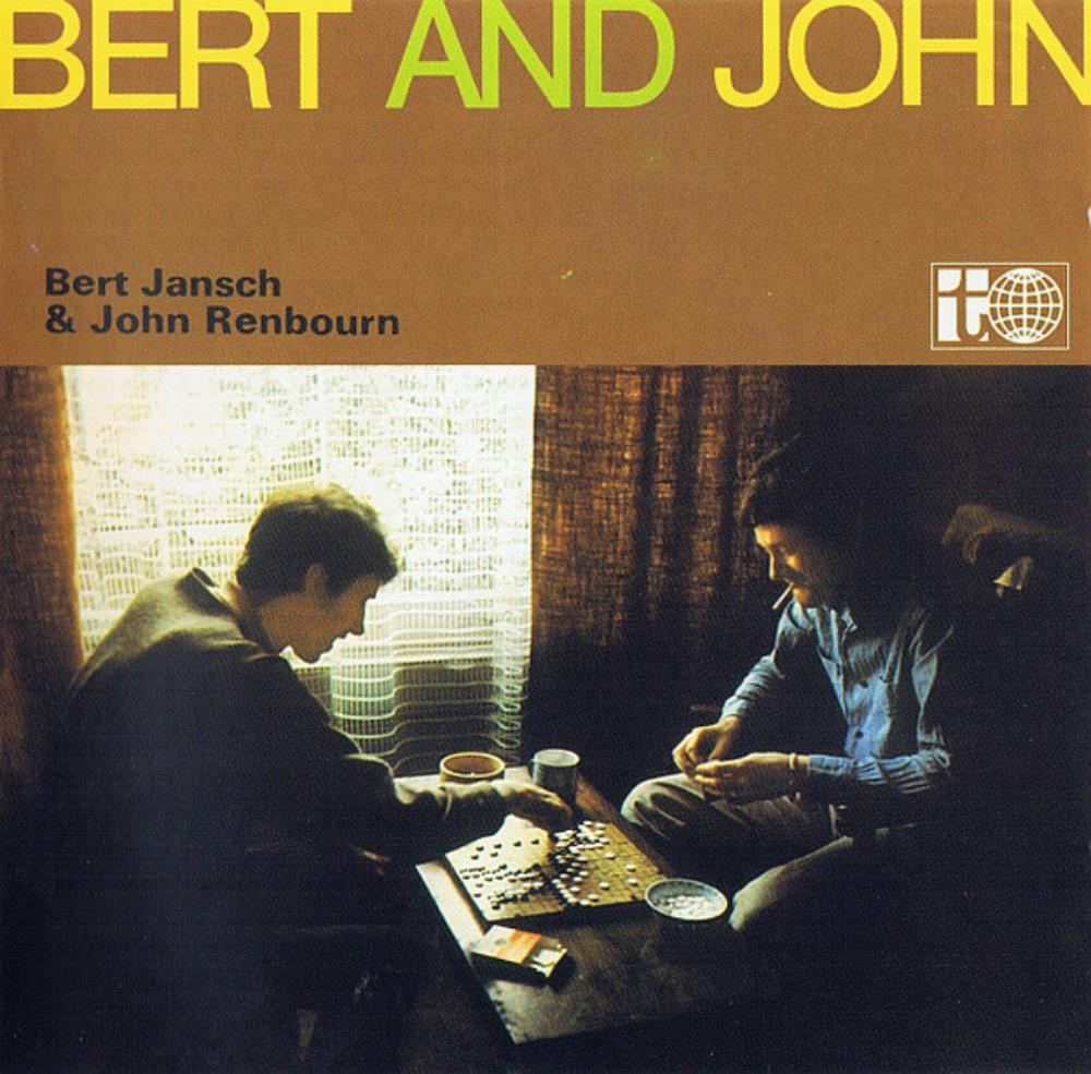 Bert Jansch - Bert Jansch & John Renbourn: Bert And John [Aka: Stepping Stones] CD (album) cover