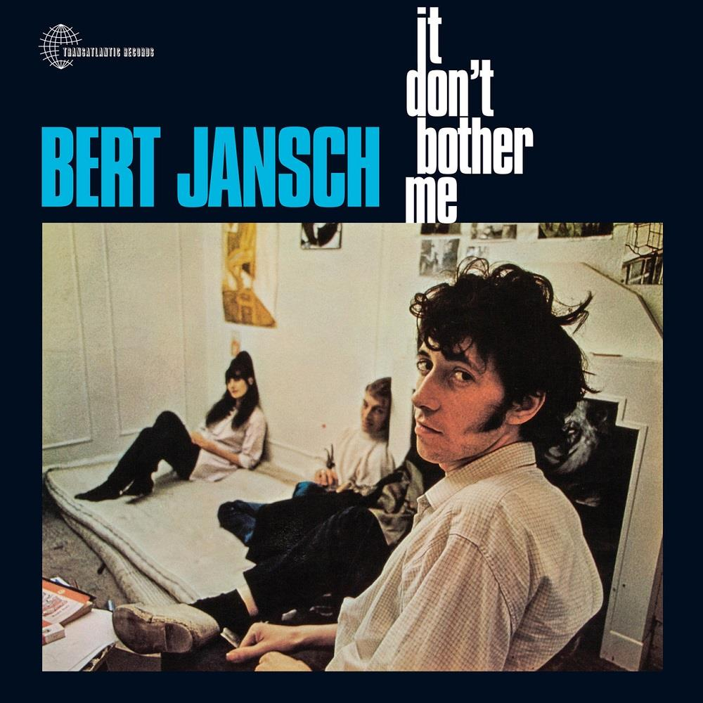 Bert Jansch It Don't Bother Me album cover