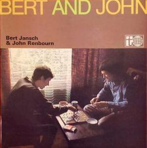 Bert Jansch - Bert and John (w/ John Renbourn) CD (album) cover