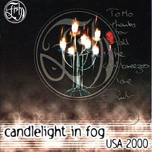 Fish Candlelight In Fog, Live In USA album cover