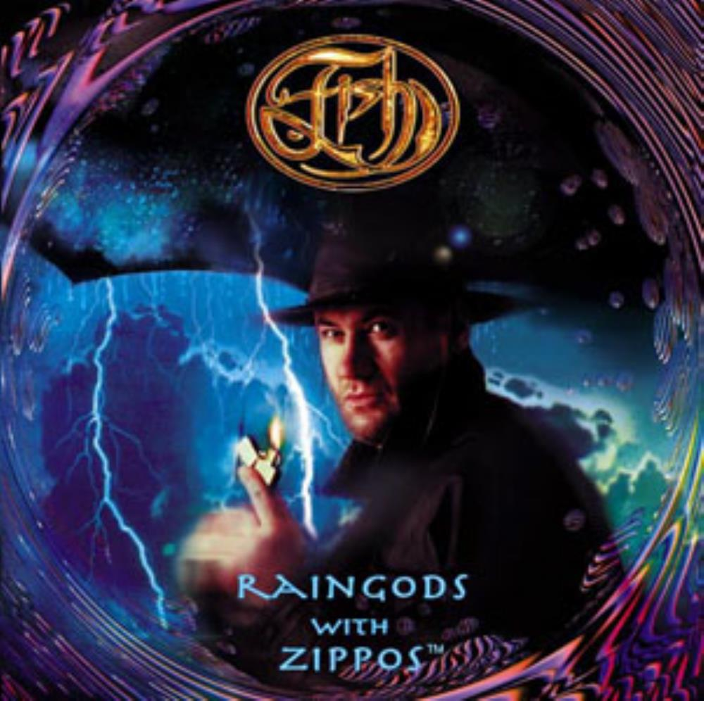 Fish - Raingods With Zippos CD (album) cover