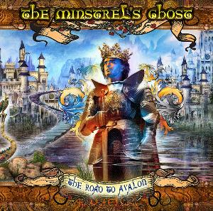 The Minstrel's Ghost - The Road To Avalon CD (album) cover