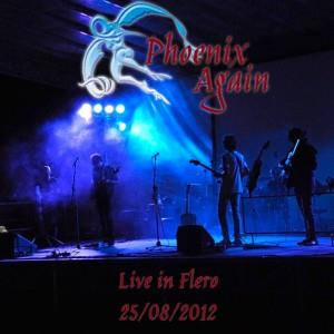 Phoenix Again Live in Flero album cover