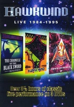 Hawkwind Live 1984 - 1995 album cover