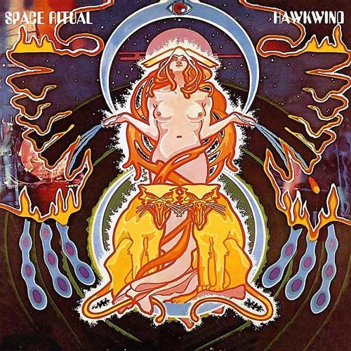 Space Ritual  by HAWKWIND album cover