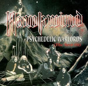Hawkwind Psychedelic Warlords album cover