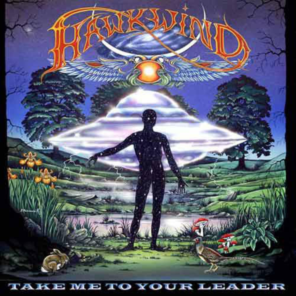 Take Me To Your Leader by HAWKWIND album cover