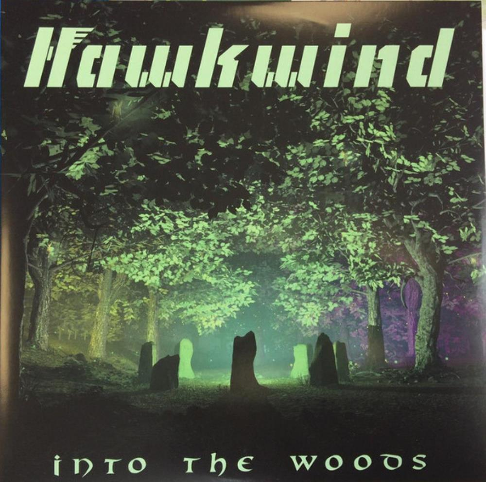 Into The Woods by HAWKWIND album cover