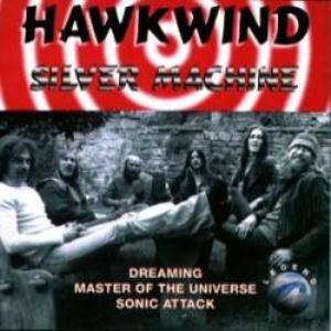 Hawkwind Silver Machine album cover