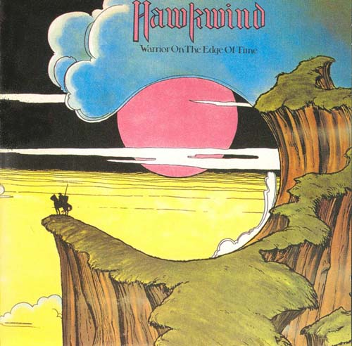 Warrior on the Edge of Time by HAWKWIND album cover