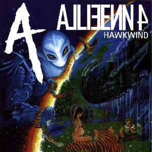 Hawkwind - Alien 4 CD (album) cover